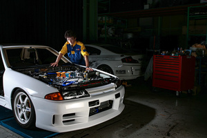 「スモーキー永田が息抜きで作ったNAチューンが凄い!」高回転型のVQ35ユニットをBNR32に搭載!