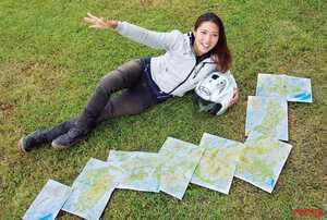下川原リサのクロスカブで日本一周【4ヶ月1万9740kmの旅が彼女にもたらしたもの】