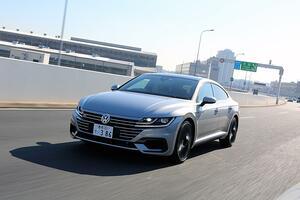 【試乗】コスパ高し! VWアルテオンはレア感と質感の高さに加えて速さも十分でお買い得