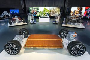 GM 新型バッテリー「アルティウム」を搭載するグローバルEVプラットフォームを発表