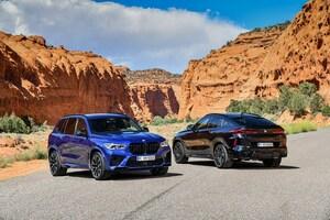 BMWジャパン、新型「X5 Mコンペティション」および「X6 Mコンペティション」を発表