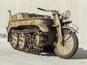 【予想の2倍で落札】キャタピラー搭載モーターサイクル NSU Sd. Kfz. 2型ケッテンクラート 北米オークション