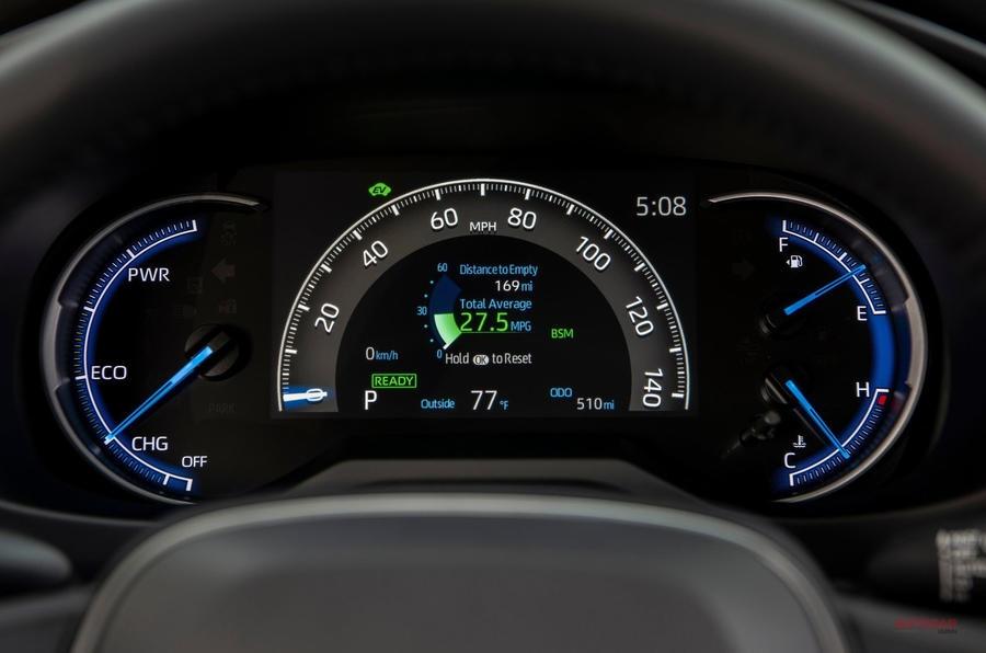 新型 トヨタRAV4 XSEハイブリッド 試乗 TNGAベースですべてを一新