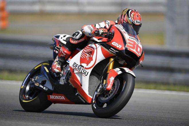 MotoGPブルノテスト、中上はセッティング違いの2台を比較テスト。「内容の濃いテストになった」