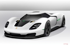 ポルシェ新ハイパーカー、F1ドライブトレインの採用か 鍵握るクロアチア「リマック」社