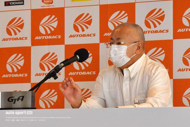 GTA坂東代表が今季初会見で第2戦の2デー開催を明言。第5戦以降の観客動員の可能性と運営指針