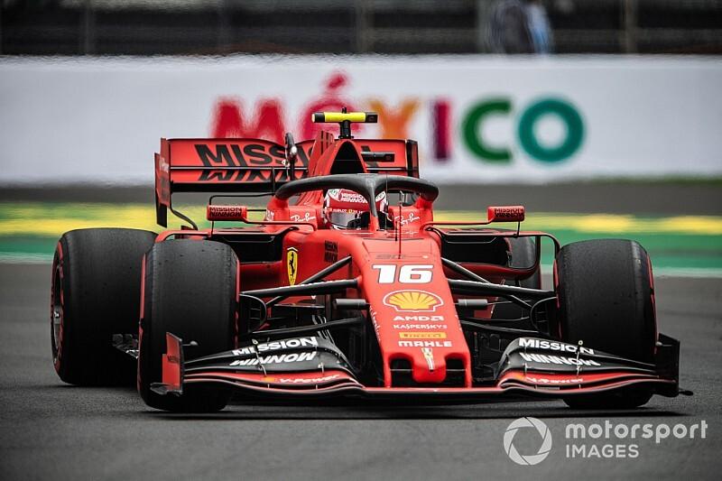 F1メキシコFP3:濡れ乾きの路面がアタック合戦を演出。ルクレール首位、レッドブル・ホンダのフェルスタッペン6番手