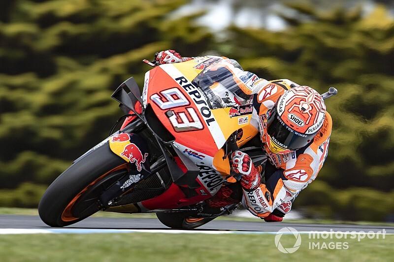 "MotoGPオーストラリア決勝:マルケス、""ドゥーハン超え""55勝目。ビニャーレスまさかの転倒"