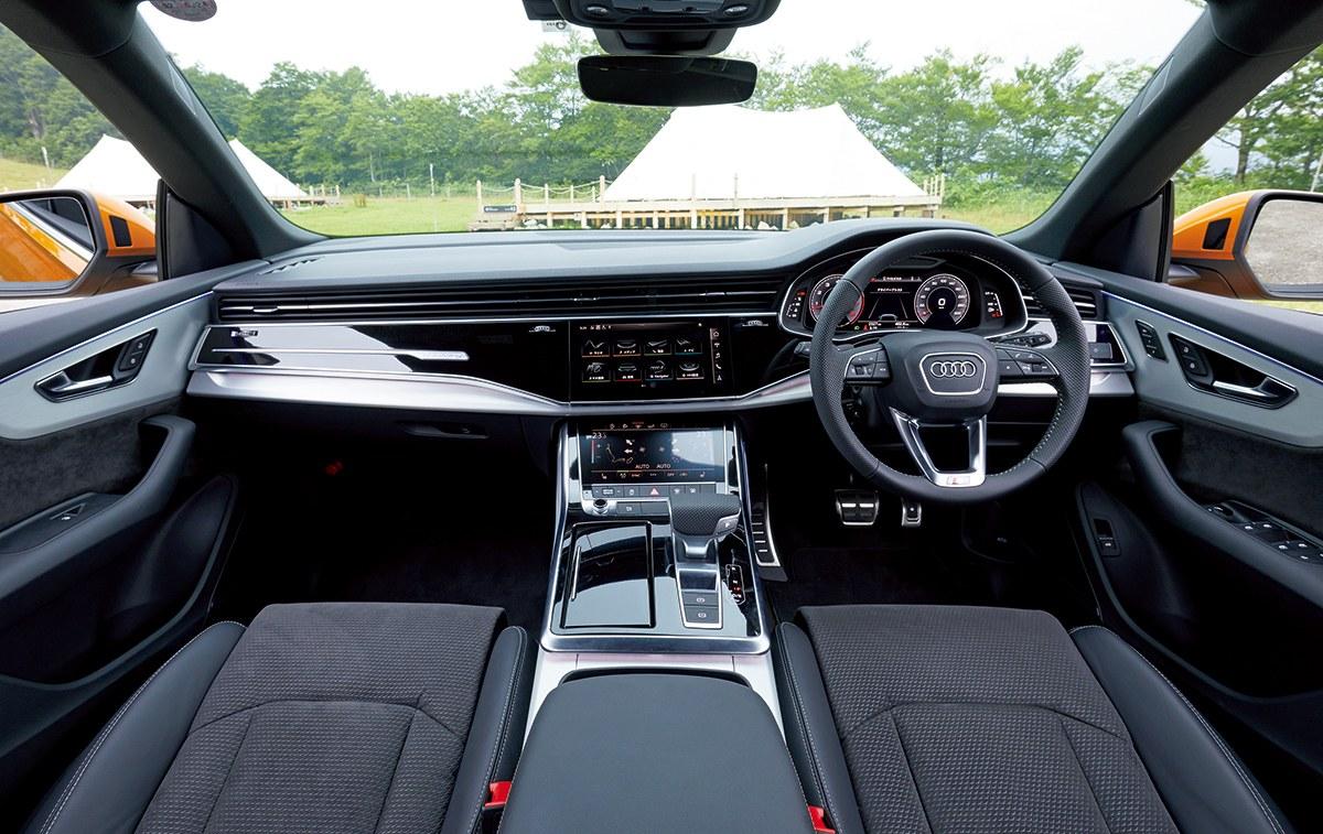 美しさでクルマを選ぶ── 「映え」るSUVたち【Audi Q8編】