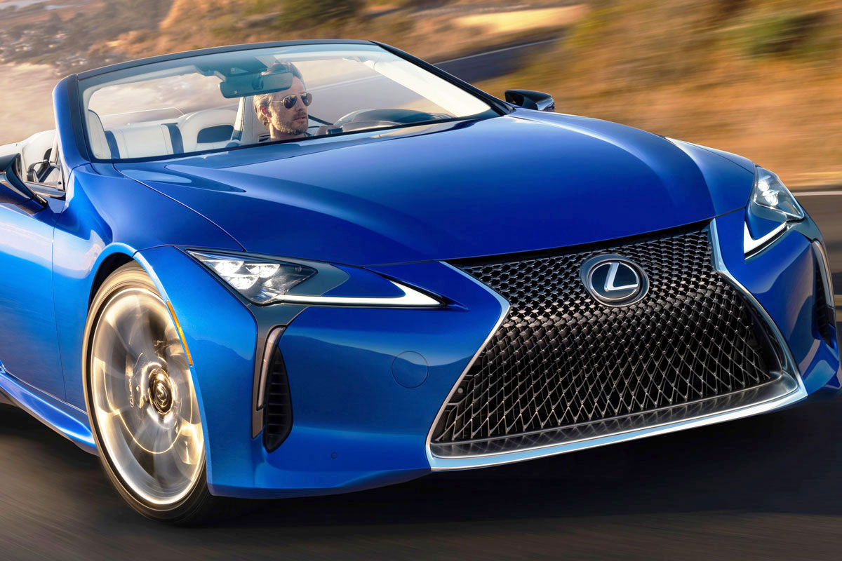 レクサス LCコンバーチブル 6月27日発売! 国産V8オープンが誕生間近に