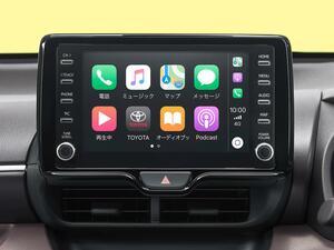 トヨタが6月発売の新型車からディスプレイオーディオをApple CarPlayとAndroid Autoに標準対応