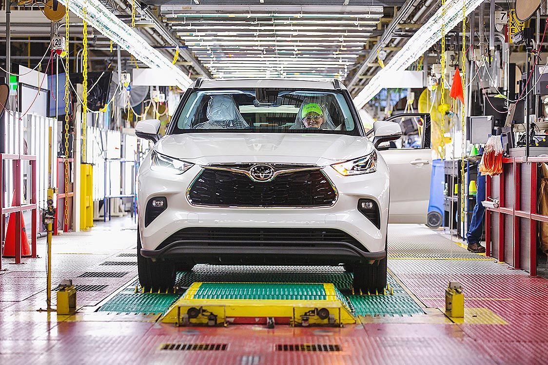 トヨタ、北米の14工場 5月4日から生産再開 臨時従業員5千人は一時帰休