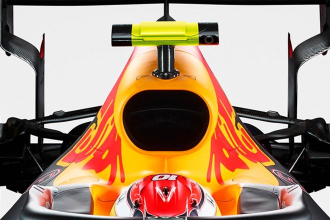 F1技術分析ピックアップ:レッドブル、ホンダPUのパフォーマンス向上のためインダクションポッドを大型化