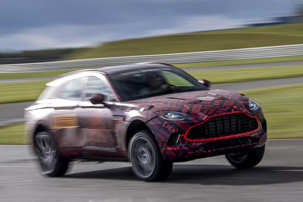 アストンマーティン 東京オートサロン2020に新型SUV「DBX」「DBSスーパーレッジェーラ・ボランテ」出展