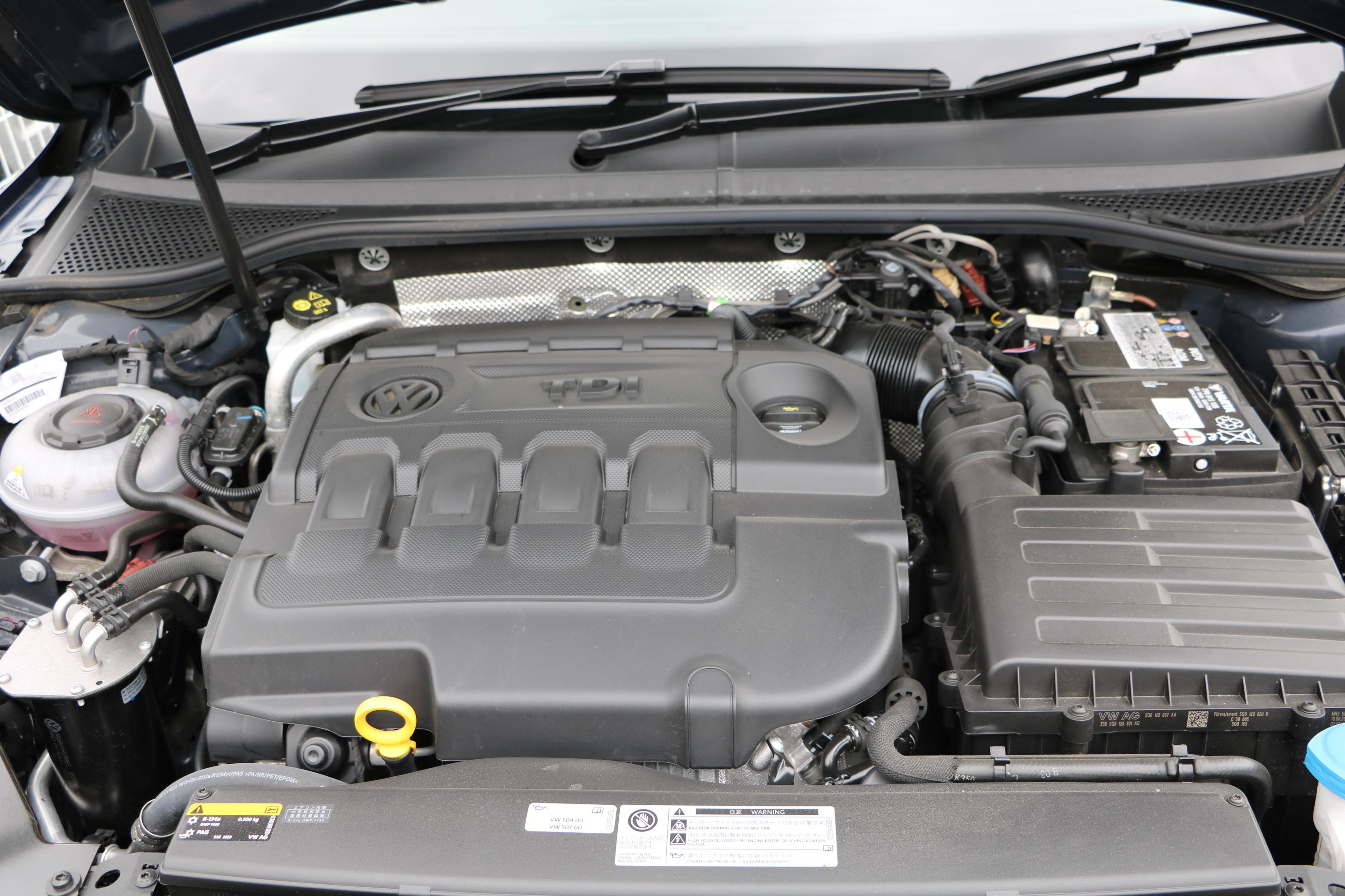 最大トルク400Nmは、ガソリンエンジンでいえば4リッターのV8クラス。パサートオールトラックは力強く、気兼ねなく遊べる実用車と実感した