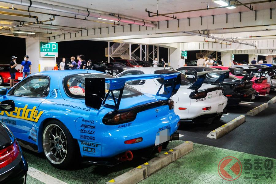 七夕にマツダ「RX-7」が大集合! 歴史的ロータリー車が自然発生的に集まったワケ