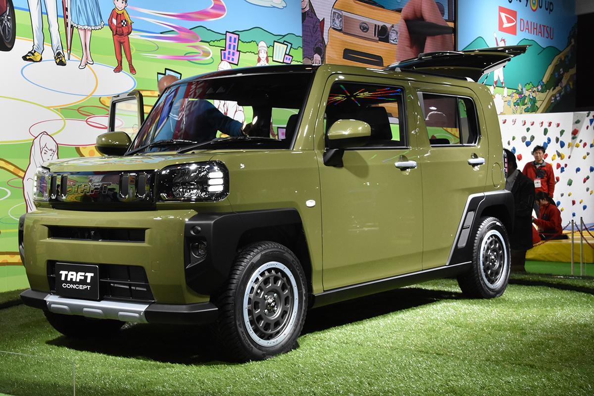 発売1カ月で目標の「4.5倍」も売れた! ダイハツ・タフトが激戦の軽SUV市場で大ヒットのワケ