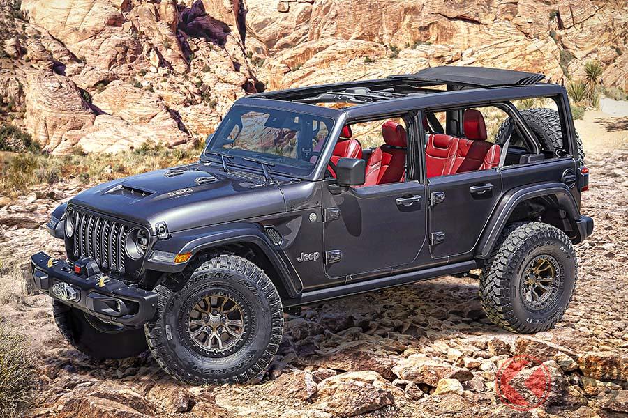 Jeep「ラングラー」にV8モデルが復活! ハイブリッドが当たり前の時代になぜ?