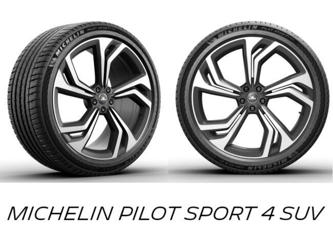 ミシュラン 新デザイン「フルリング プレミアム タッチ」を採用した「MICHELIN PILOT SPORT 4 SUV」発売