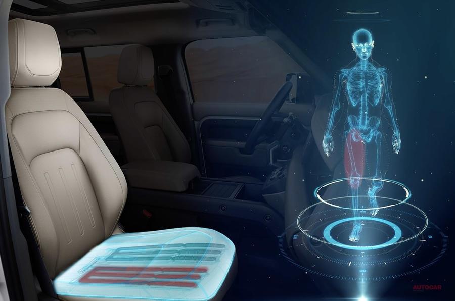 【健康リスク減らす】ジャガー・ランドローバー 運転中もシートが筋肉刺激 歩行同様の運動へ