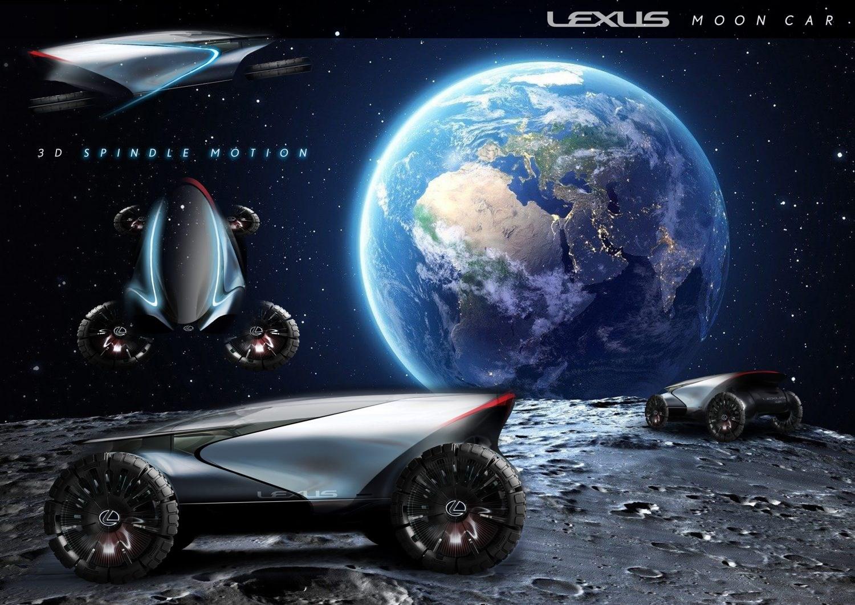レクサスが月へ!? 月面での活動を想定したコンセプトモデルを披露