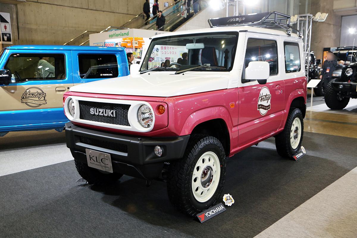 スズキ・ジムニー &シエラのカスタムが激アツ! 「大阪オートメッセ2020」では注目車両が集結する予感