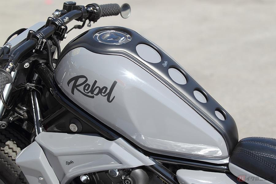 タイ発ホンダ「レブル500」カスタム カスタムバイクもボーダレスの時代に突入か