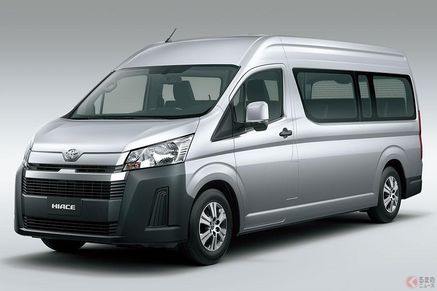 トヨタ新型「ハイエース」を世界初公開 新型はアジア新興国を中心に発売