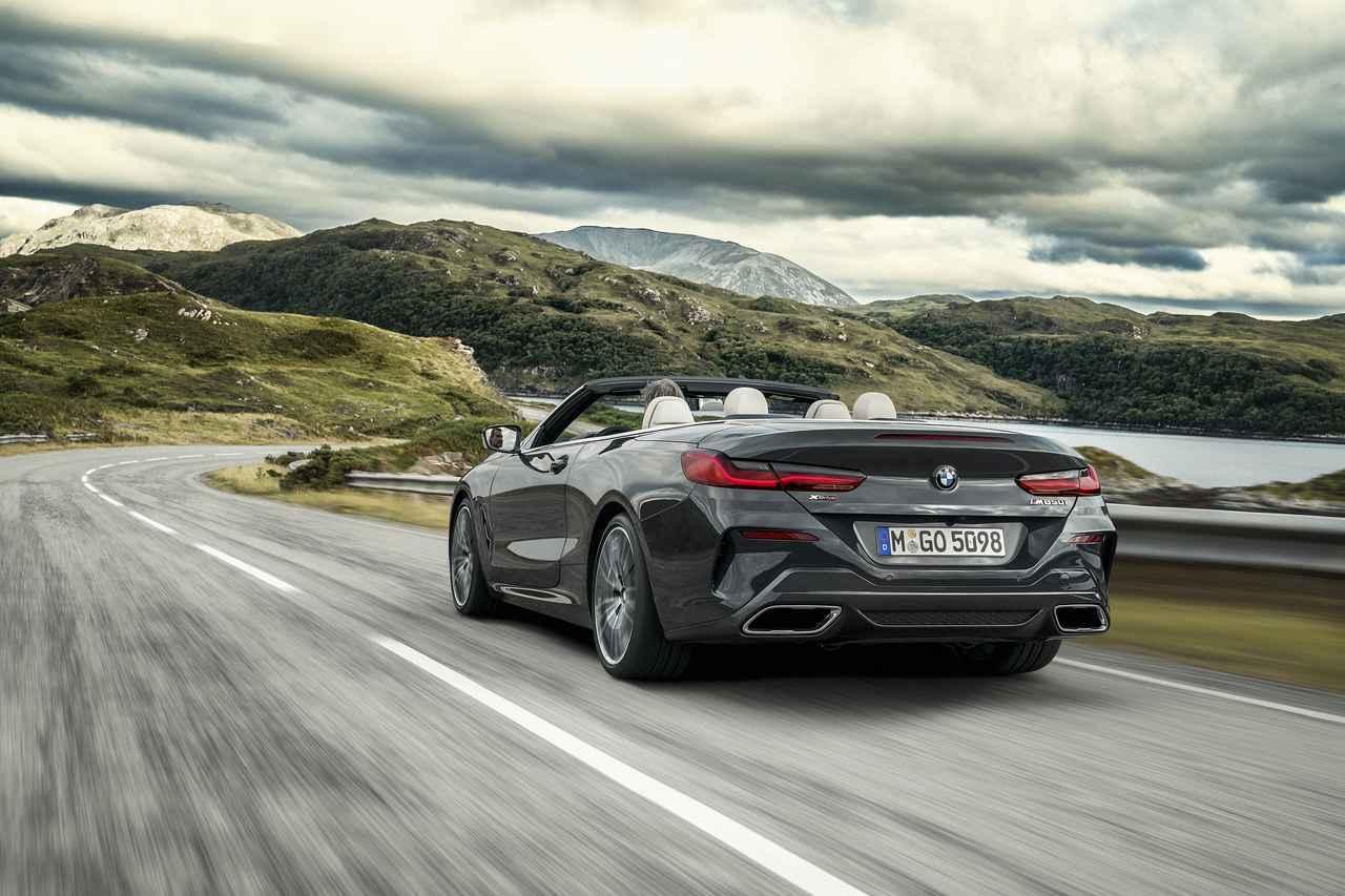 BMW8シリーズカブリオレ発表 0→100km/hは3.9秒を達成する最上級ラグジュアリーオープンモデル