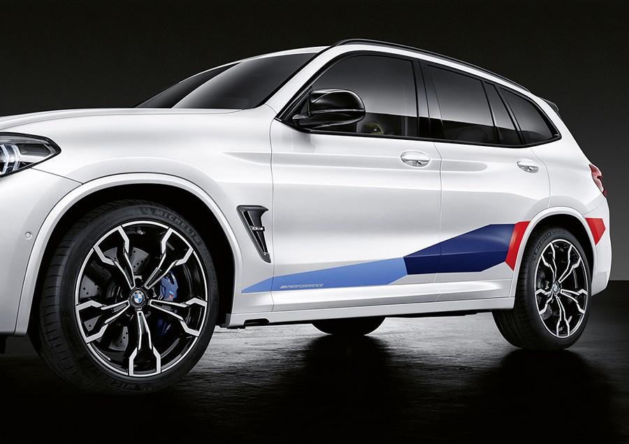 独BMW、X3 MおよびX4 M向けのアクセサリーパーツを発表