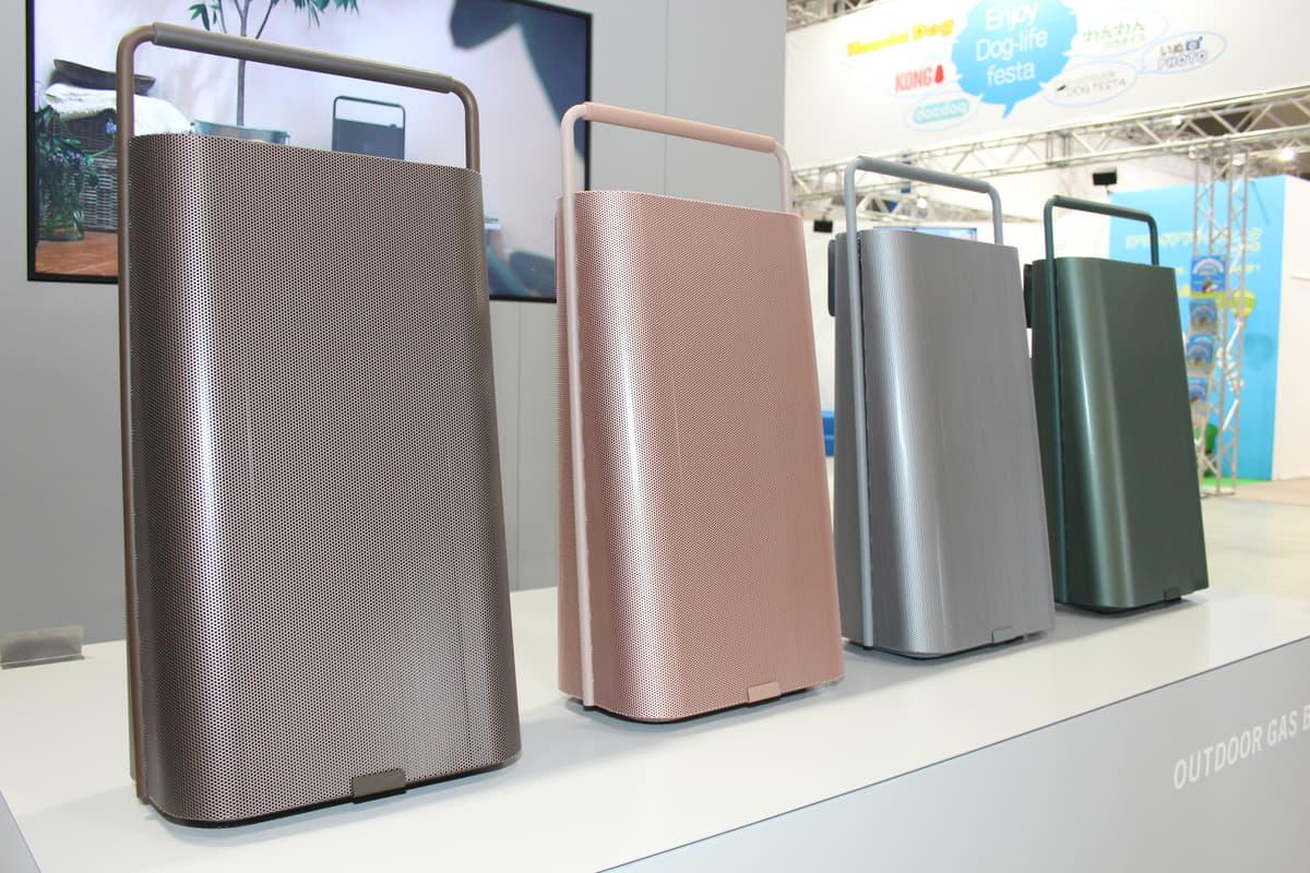 アウトドア派は必見!屋外でも使える日本初のカセットガス式ポータブル給湯器