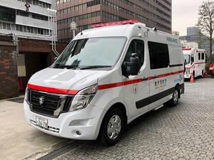 救急車もゼロ・エミッション! 日産のピュアEV救急車が稼働開始