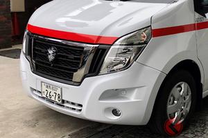 なぜEVを日本初採用? 日産が製作したEV救急車が稼働開始 ふたつのバッテリーの違いは