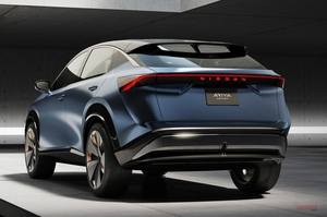 【チーフデザイナー語る】日産アリア・コンセプト 新しい電動SUV 今のデザインになった背景