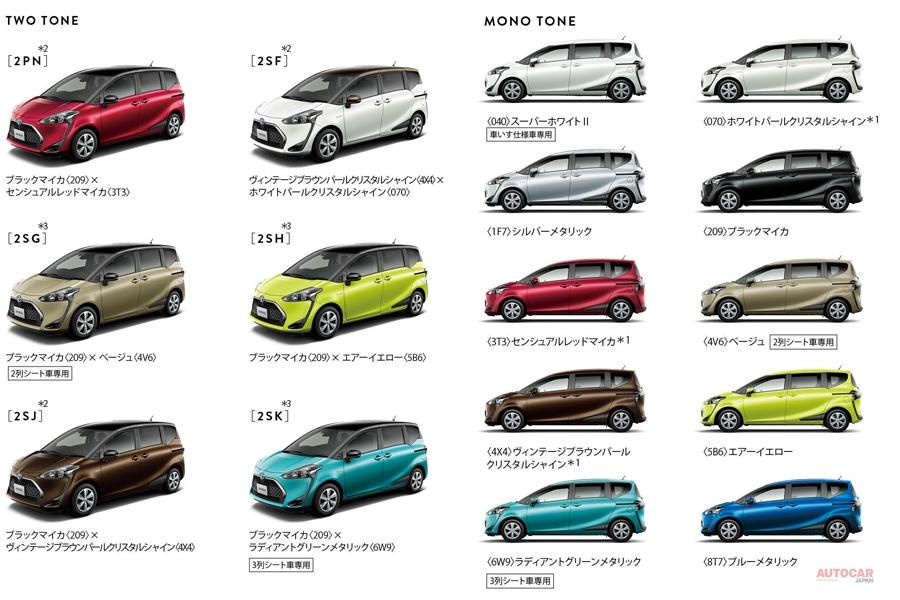 トヨタ・シエンタ 2列シート車発売、荷室がフラットに 後席リマインダー搭載