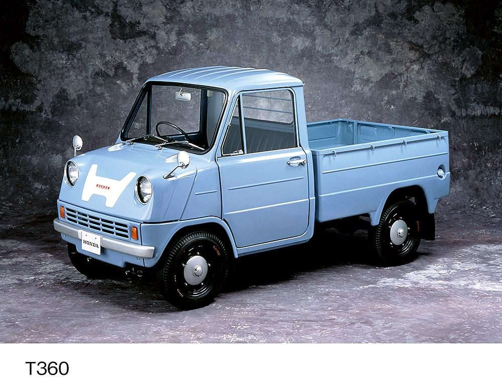 ホンダ・アクティ・トラックの特別仕様車がモチーフとした「T360」ってどんなクルマ?