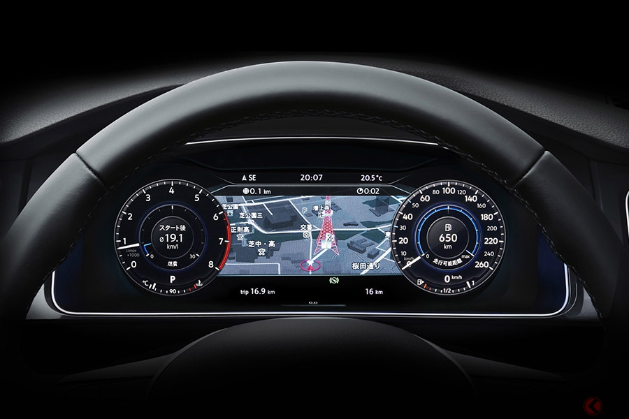 "VW「Golf Variant""Tech Edition""」登場 先進的な多機能デジタルメーター採用"