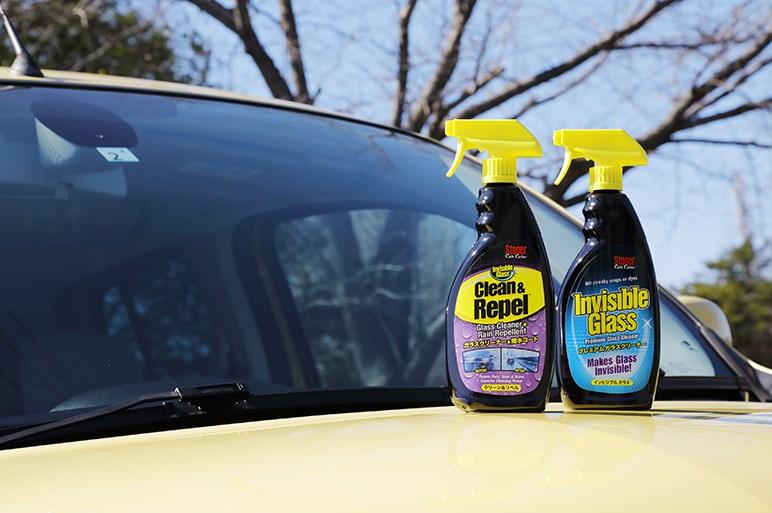 強力洗浄&撥水効果のガラスクリーナー「クリーン&リペル」の実力に自動車ガラスのプロも絶賛!