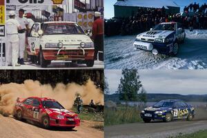 市販車のレプリカカラーも多数出現! WRCで活躍したニッポンの平成名車5選
