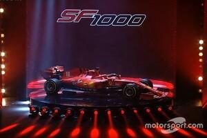 """フェラーリF1、新車『SF1000』を発表。1000レース目迎える跳ね馬、""""逆襲""""なるか"""