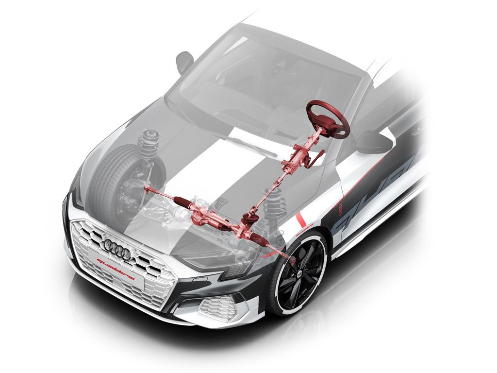 デビューはジュネーブ! アウディが次期「A3」のテスト車両を公開