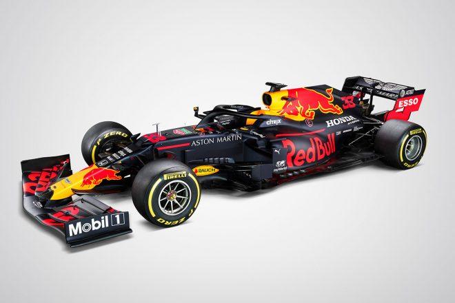 レッドブル・ホンダF1、打倒メルセデスを誓う2020年新型マシン『RB16』を正式発表