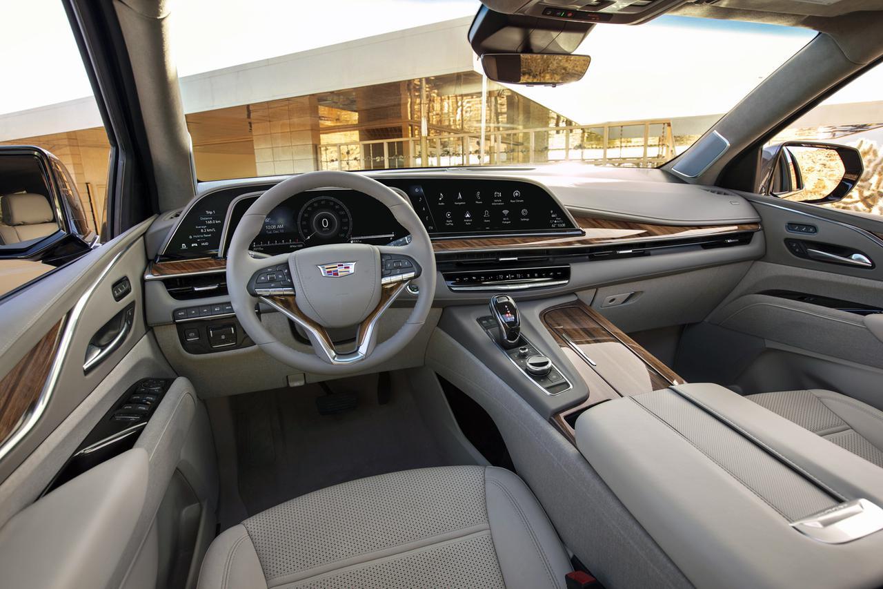 キャデラックのフルサイズSUV「エスカレード」がフルモデルチェンジ