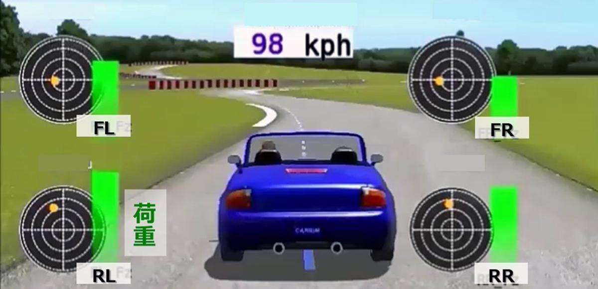 TOYO TIREが走行中のタイヤの状況をリアルタイムで見られる「超画期的」技術を開発!