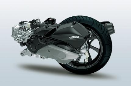 量産二輪車初のハイブリッドシステムを採用したホンダのスクーター「PCX HYBRID」