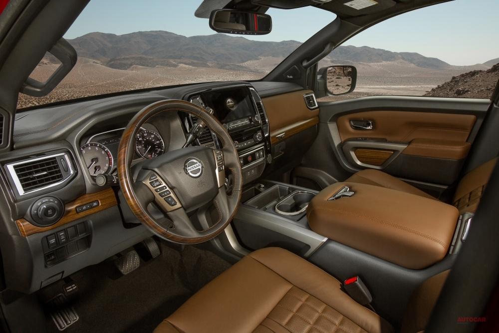 【9速ATを採用】日産 大型ピックアップ・トラック「タイタン」2020年モデル、北米発売