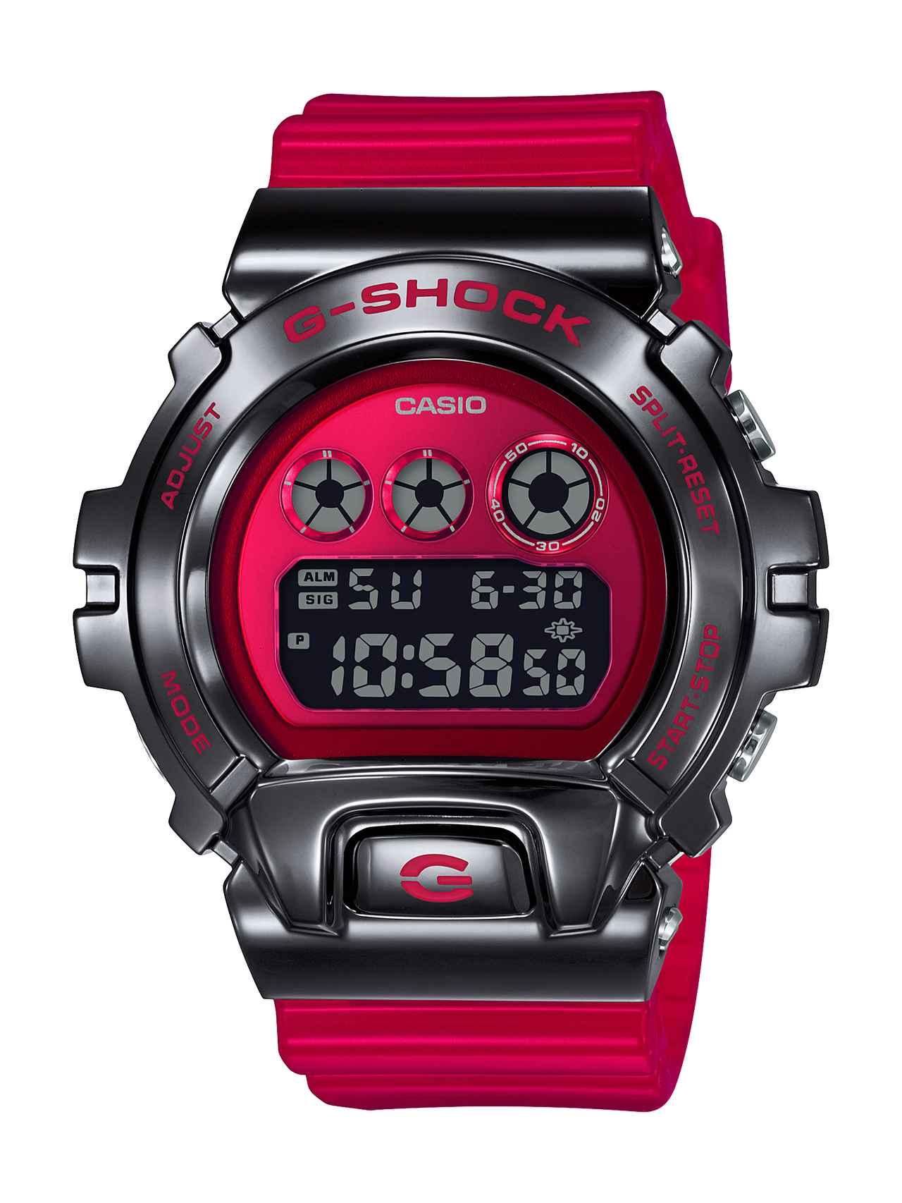 G-SHOCKの定番「三つ目」の6900シリーズに初のメタルベゼル採用モデルが登場!