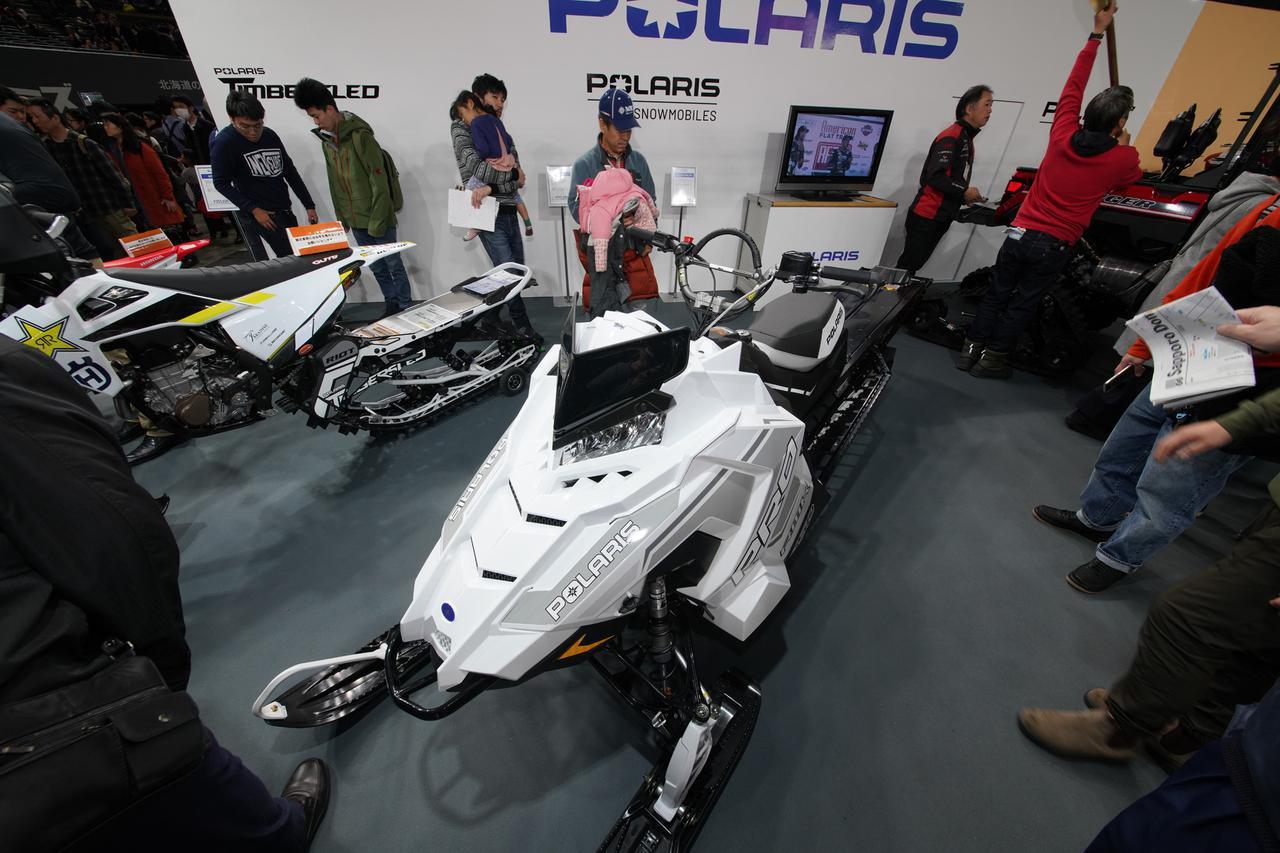 札幌でみつけた、雪上モーターサイクルがアツすぎる