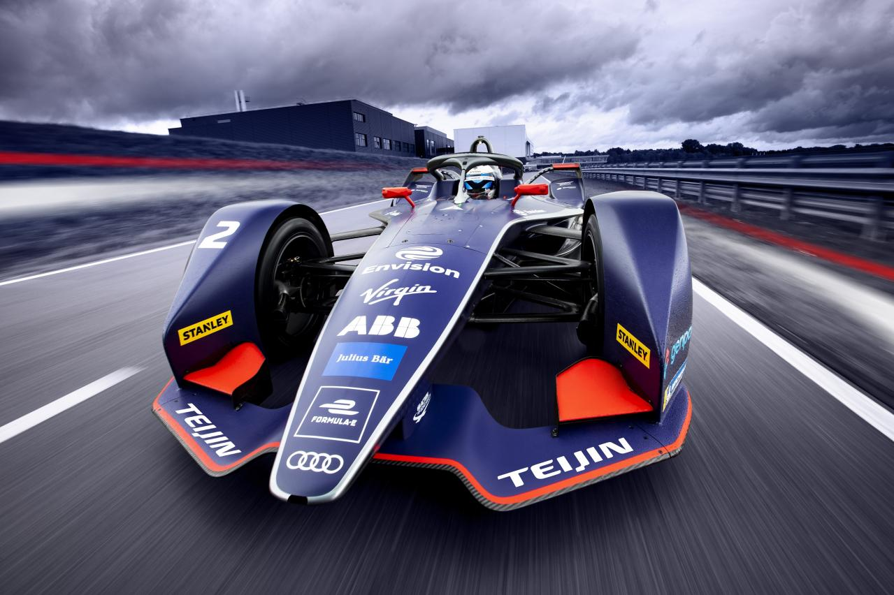 帝人:フォーミュラE「Envision Virgin Racing Formula E Team」を支援