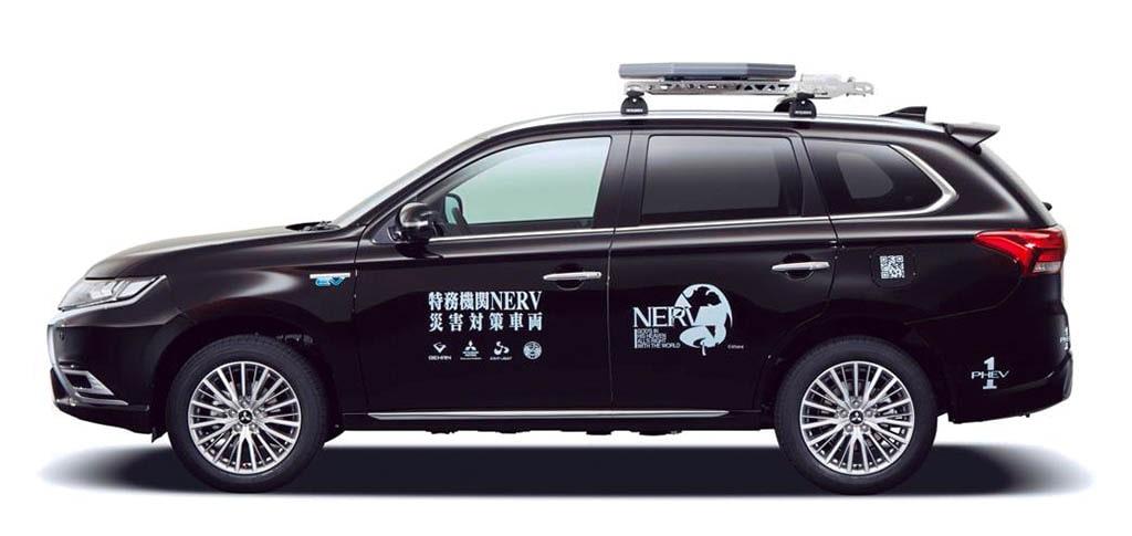 アウトランダーPHEVをベースに電源供給、衛星通信などが可能な車両を製作